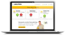 Webová Samoobsluha Jablotron