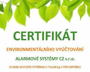 Ochrana životního prostředí je nedílnou součástí naší společnosti